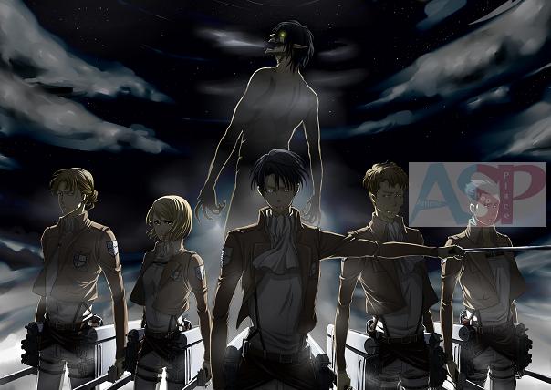 Плакат Attack on Titan
