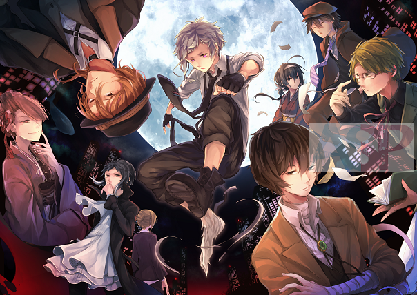 Плакат Bungou Stray Dogs