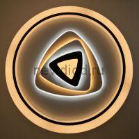 Управляемый светодиодный светильник Geometria 301 120Вт-7200Лм 500мм 6/3/4000K Oreol