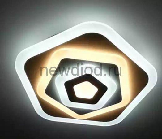 Управляемый светодиодный светильник Geometria 503 160Вт-6900Лм 500мм 6/3/4000K Oreol