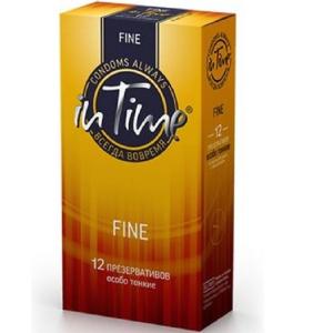 Презервативы IN TIME №12 Fine особо тонкие