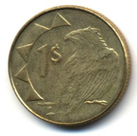 Намибия 1 доллар 2010