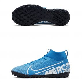 ДЕТСКИЕ ШИПОВКИ NIKE SUPERFLY VII ACADEMY TF AT8143-414 JR