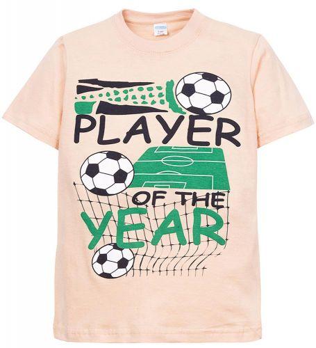 Футболка для мальчиков 6-9 лет Sladikmladik футбол