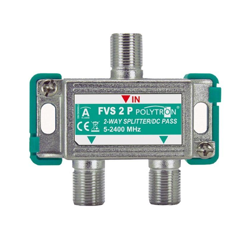 ТВ делитель (сплиттер) спутниковый FVS 2 P