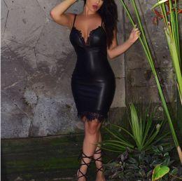 платье под кожу модель 520, размеры S, M