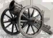 Бомбарда, 2-я пол. 15 века ЦИНКОВЫЙ СПЛАВ