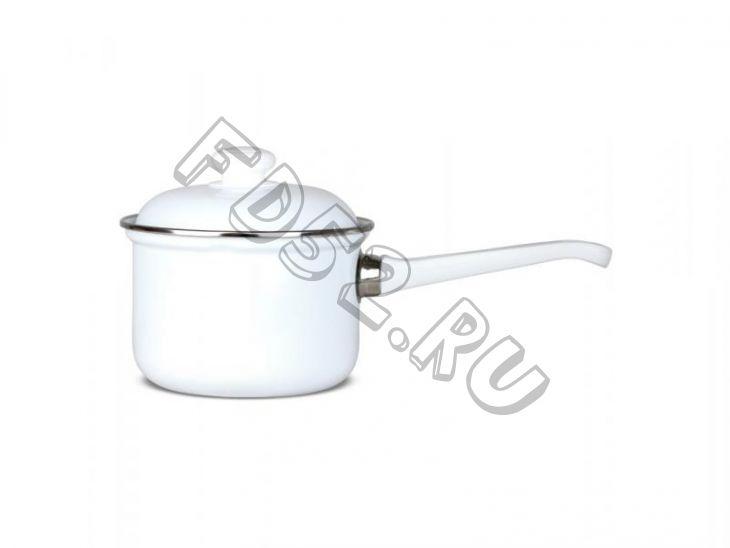 Кастрюля 1,0л цил без рис. С-1607АП (6) с одной ручкой