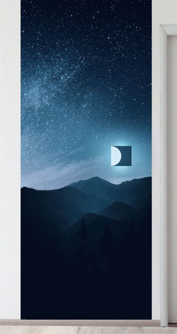 Панно на стену - Квадрат луны