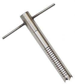 Ввёртыш (130 мм,d16мм нержавеющая сталь) фиксированная ручка