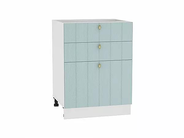 Шкаф нижний Прованс Н603 (голубой)