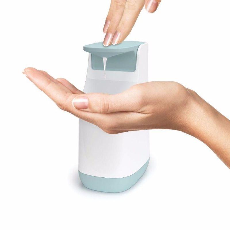 Диспенсер для жидкого мыла Compact Soap Pump, 350 мл, цвет голубой