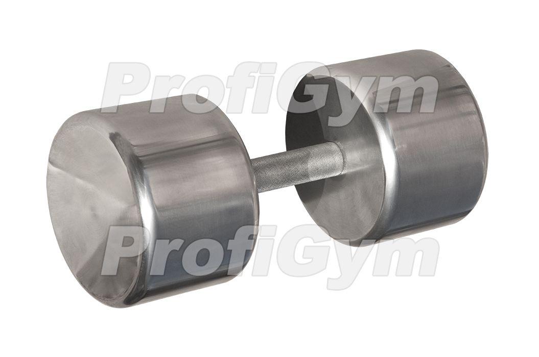 ГНХ-36,5 Гантель хромированная «PROFIGYM» 36,5 кг