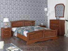 Кровать из массива Елена