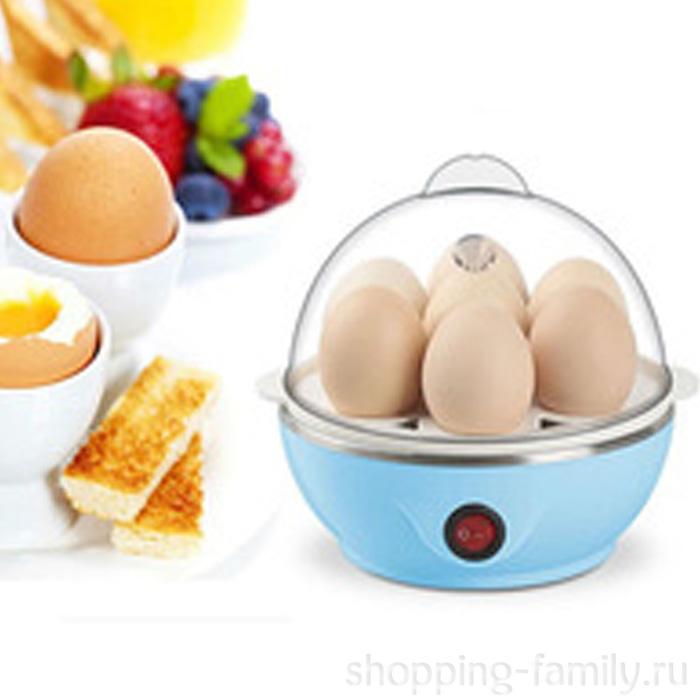 Электрическая яйцеварка Egg Cooker, Цвет Голубой