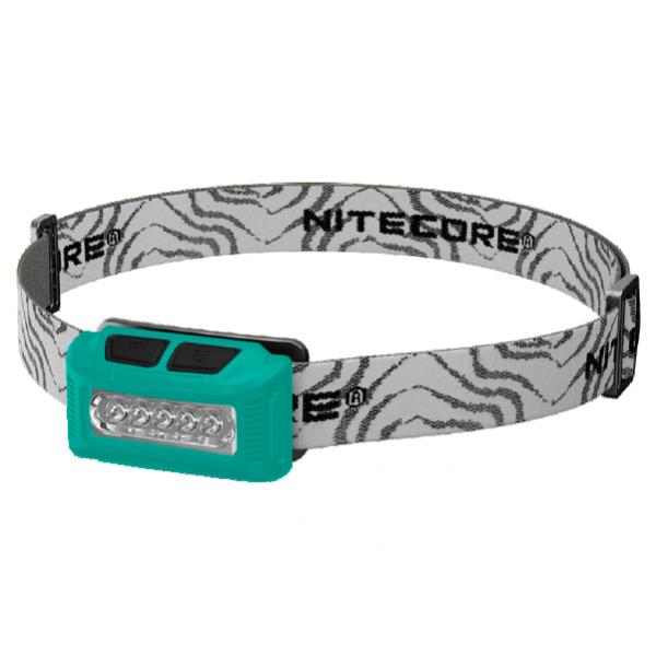 Светодиодный налобный фонарь Nitecore NU10 Зеленый