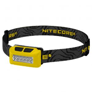 Светодиодный налобный фонарь Nitecore NU10 Желтый