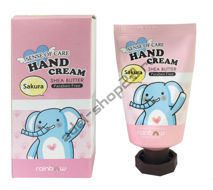 RAINBOW - SENSE OF CARE HAND CREAM SHEA BUTTER SAKURA