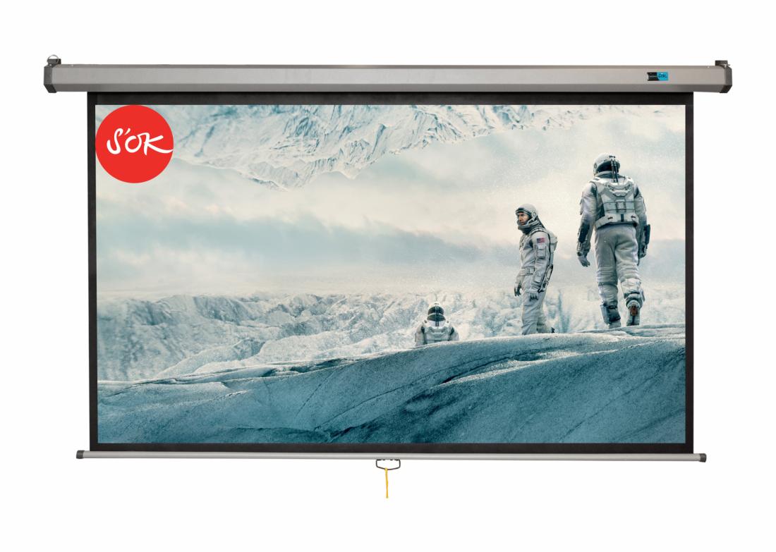 Экран S'OK SCPSM-266x150FG-GR