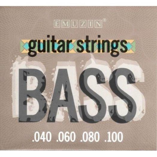 EMUZIN 4SB40-100 (040-100) Струны для бас-гитары (4 стр.)