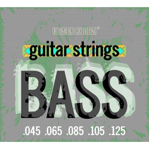 EMUZIN 5S45-125 (045-125) Струны для бас-гитары (5 стр.)