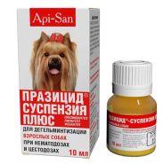 Празицид -суспензия Плюс для собак, фл.10мл
