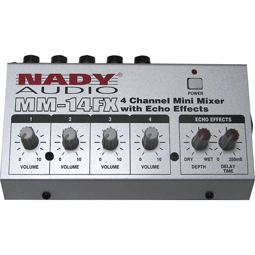 NADY MM-14FX Компактный микшер