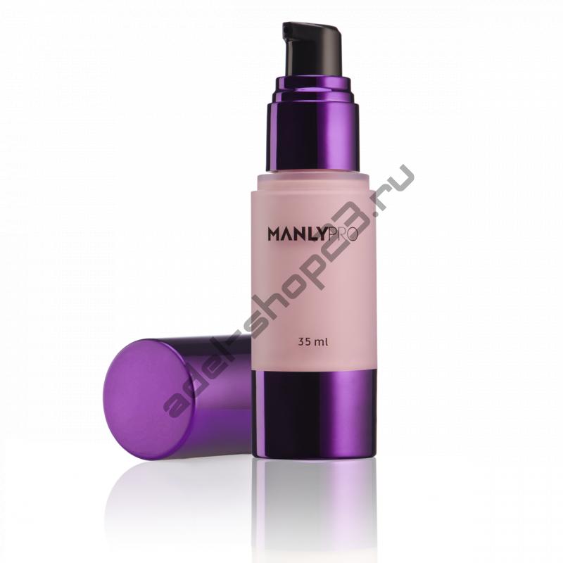 Manly PRO - Увлажняющая освежающая база под макияж HD (нежно-розовая, полупрозрачная) БТHD