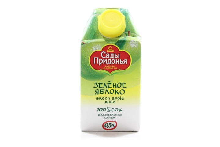 Сок Сады придонья 0,5л яблоко зеленое