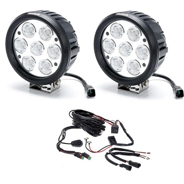 Комплект фар 140W (Дальний свет) с проводкой