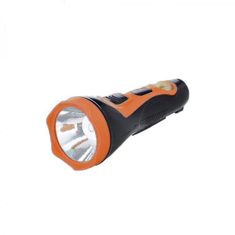Аккумуляторный Фонарь С Солнечной Батареей 2 В 1 Solar Flashlight HL-2912, Цвет Оранжевый