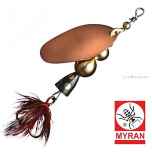Блесна вертушка Myran Mira 4гр / цвет: Koppar 6471-03