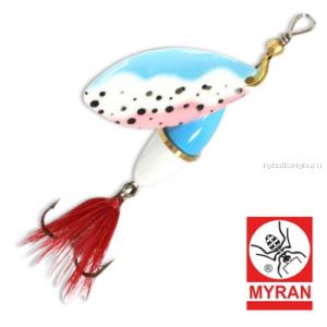 Блесна вертушка Myran Wipp 7 гр / цвет: Trout 6842-251