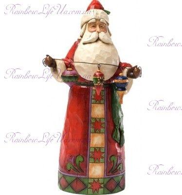 """Фигурка Санта с игрушкой """"Enesco"""""""