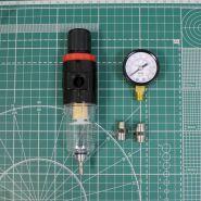 Фильтр воздушный с регулятором, с манометром, (компрессор 1203, 1203II)