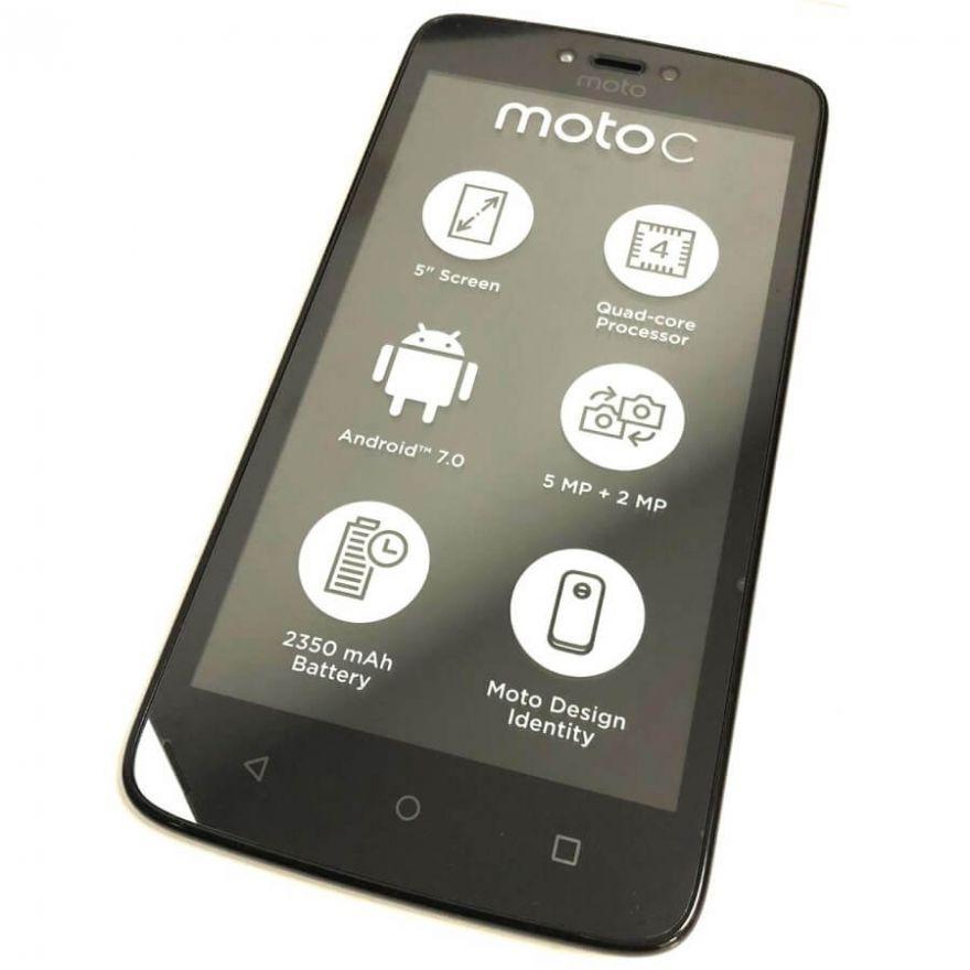 Дисплей в сборе с сенсорным стеклом и рамкой для Motorola Moto C 3G XT1750 (Original)