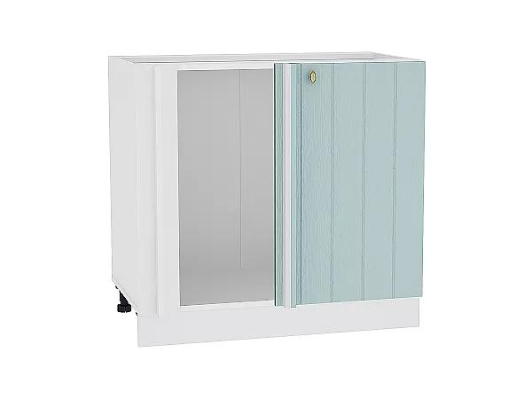 Шкаф нижний угловой Прованс НУ990 (голубой)