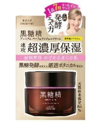 Kose Cosmeport Kokutosei Premium Суперувлажняющий гель-крем для лица все в одном на основе экстракта сахарного тростника 100 гр