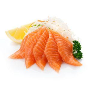 067 Сашими с лососем 80г