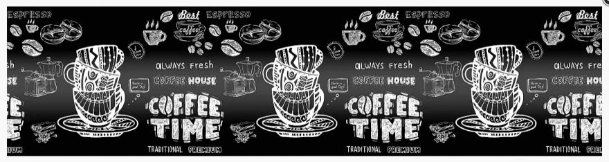 Фартук для кухни «Кофе time» Виват