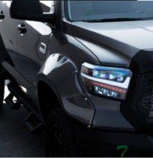 Лексус стайл светодиодные фары Тойота Тундра 2014г.+ третье поколение