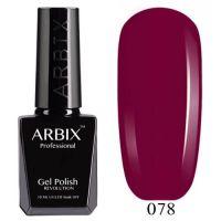 Arbix 078 Бачата Гель-Лак , 10 мл