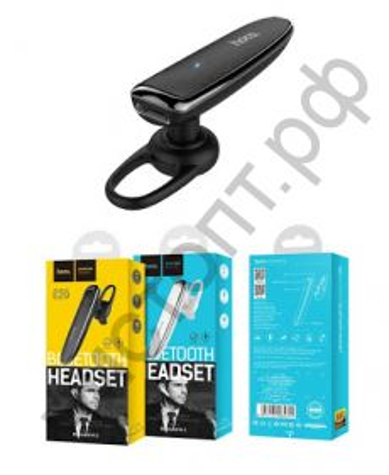Bluetooth гарнитура моно HOCO E29, Splendour, цвет: чёрный