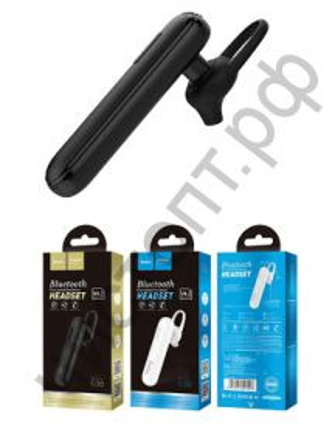 Bluetooth гарнитура моно HOCO E36, цвет: чёрный