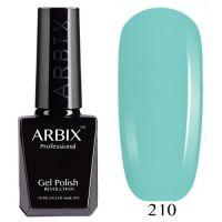 Arbix 210 Лазурный Берег Гель-Лак , 10 мл