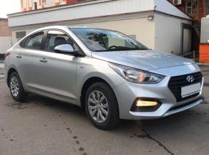 Hyundai Solaris 2017 г. Автомат