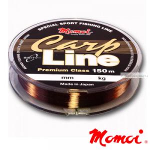 Леска монофильная Momoi Carp Line 150 м / цвет: коричневый
