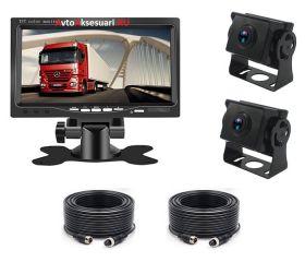 Камеры заднего вида 2 шт AHD с монитором 7 дюймов PZ612/AHD