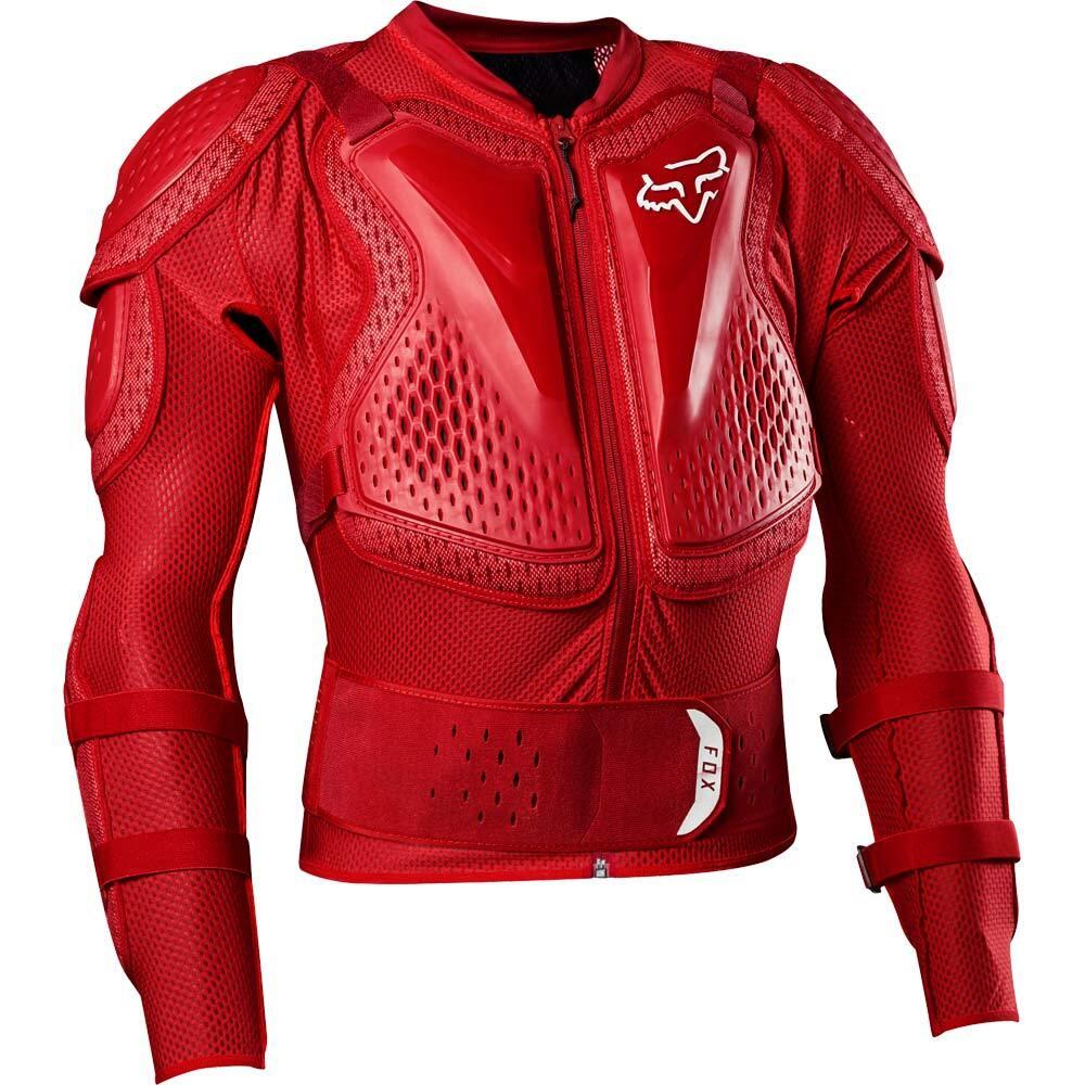 Fox Titan Sport Jacket Red жилет защитный, красный