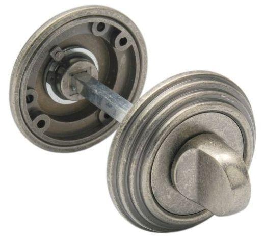 Завертка К Ручке Adden Bau Vintage Wc V003 Aged Silver, Состаренное Серебро